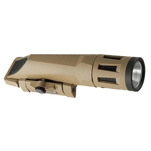 WX-06-2 InForce, Mlx, Multi Function Weapon Mounted Light, 700 Lumens, Gen 2, White/Infrared LED, Flat Dark Earth