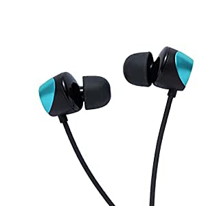 Tunai Creative Drum Hi-Res Earphone - In-ear Headphones with Extra Large 1/2 Drivers for Improved Soundstage and Bass Response (Turkish Blue)
