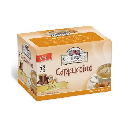 Grove Square Caramel Cappuccino Individual Cups - 72 ct.