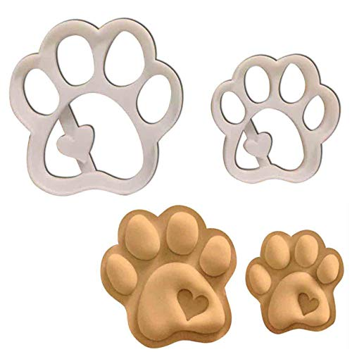 Paw Lion Prints - SET of 2 Cute Paws (Small and Large Size), 2 pcs, Ideal gift for dog lovers