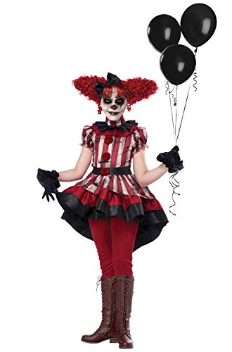 Girls Wicked Klown Horror Costume size XL 12-14