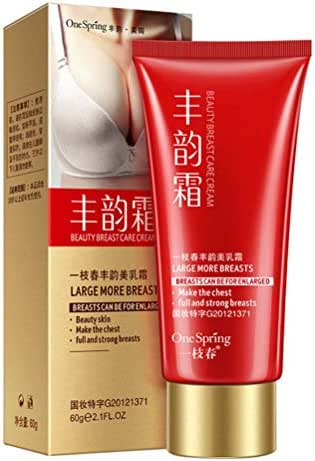 Breast Enlargement Enhancement Massage Cream Really Work Enhance Firming Lifting Nursing Larger for Small Flat Breasts, Fuller Breast (01)
