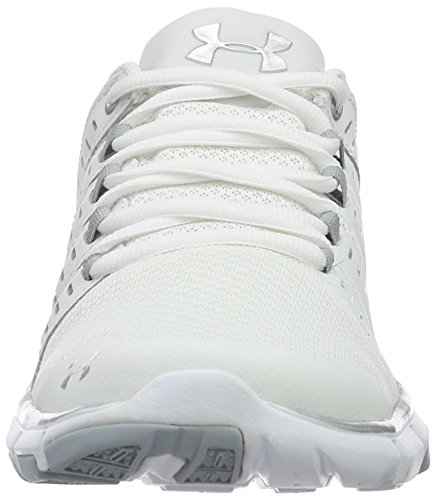 Under Armour Frauen Micro G Limitless 2 Weiß / Weiß / Metallic Silber