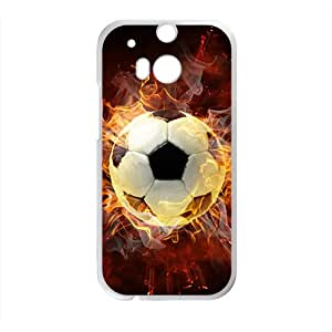 Fire Football Hot Seller High Quality Case Cove For HTC M8