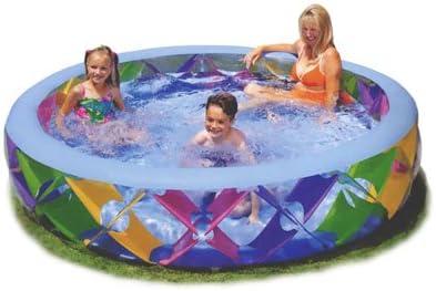 INTEX 56494 Piscina Inflable Swim Center Pinwheel 229 x 56 cm: Amazon.es: Deportes y aire libre