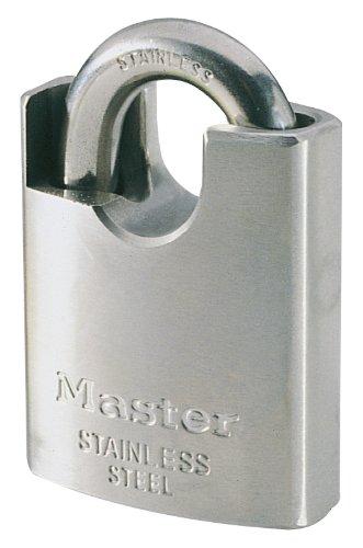 Masterlock 550EURD 50Mm Candado Acero Inox Arco Protegido