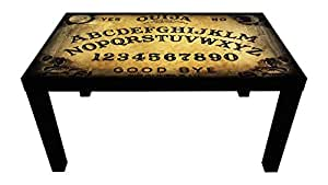 Probest Ouija Coffee Table, Retro Coffee Table, Coffee Table, Pine Wood Coffee Table, Interesting Coffee Table, Vintage Coffee Table, Coffee & End Tables, Living Room Furniture Coffee Tables, Table