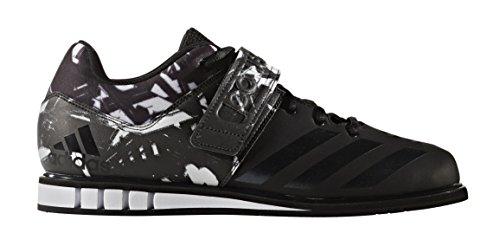 adidas Performance Men's Shoes | Powerlift.3 Cross-Trainer, Solar Red/Black/White, 9.5 M US