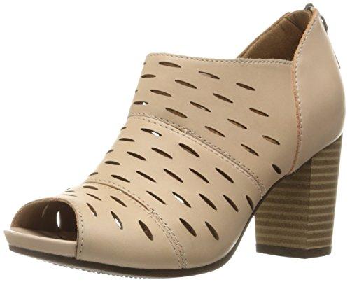 Clarks Women's Banoy Takala Dress Sandal - Nude Leather -...