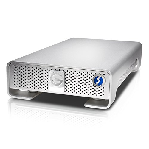 G-Technology G-DRIVE with Thunderbolt High-Performance Storage Solution 6TB (Thunderbolt, USB 3.0) (0G04023) by G-Technology
