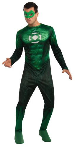 Green Lantern Hal Jordan Costume, Green,