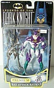 Dark Knight Bat Attack (Batman: Legends of the Dark Knight Bat Attack Batman Action Figure)