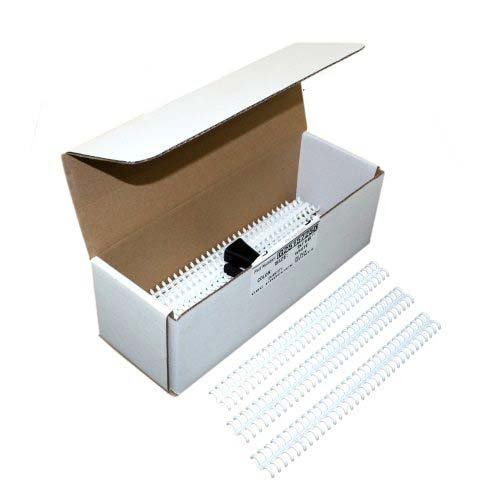 25 Pack 25157250 GBC White 5//16 Proclick Spines