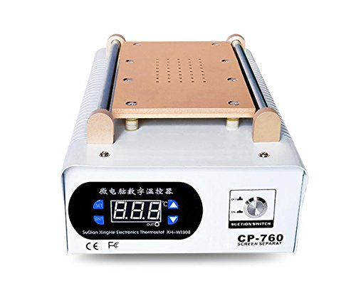 Corporation Lcd - YAOGONG LCD Screen Separator Machine Digital Removal Cell Phone LCD Glass Plate Build-in Ultra Strong Vacuum Pump Repair LCD Screen for Smart Mobile Phone 7 Inch and Below(12 Months Warranty)
