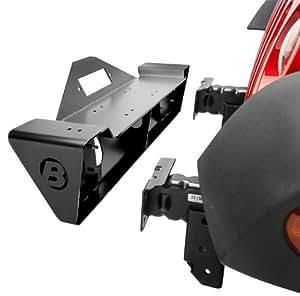 Bestop 42933-01 HighRock Black 4 x 4 Narrow Style Front Bumper for JK