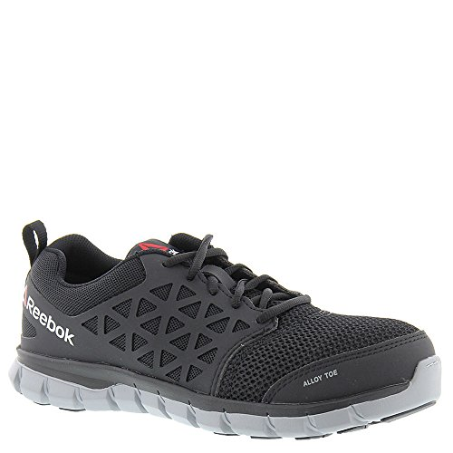 Shoe Sublite Industrial Work Reebok Black Work and Synthetic Cushion Construction Men's O6nnFwxqp