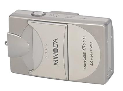 amazon com minolta dimage g500 5mp digital camera w 3x optical rh amazon com Minolta DiMAGE Z1 Manual Minolta DiMAGE Z6