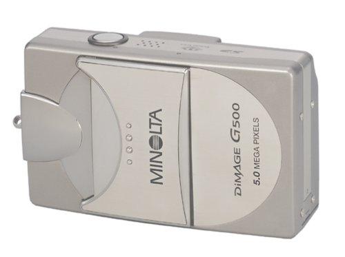 amazoncom minolta dimage g500 5mp digital camera w 3x optical zoom point and shoot digital cameras camera photo - Minolta Digital Camera
