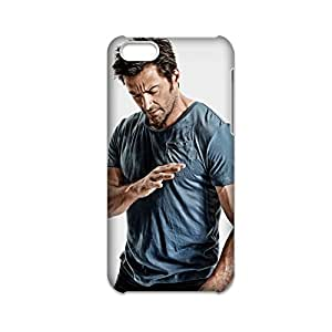 Generic Slim Back Phone Case For Boy Print With Hugh Jackman Wolverine For Iphone 5C Full Body Choose Design 1-1