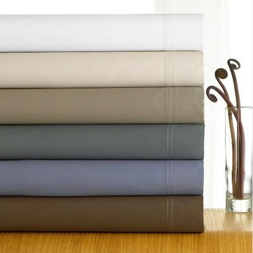 Calvin Klein Double Stitch II King Sheet Set - Bisque