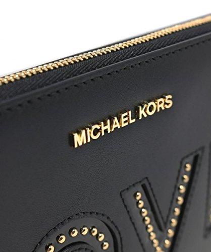 MICHAEL Michael Kors Women's Love Letters Wristlet Black One Size by Michael Kors (Image #4)