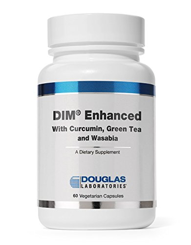 Douglas Laboratories® - DIM Enhanced - with Curcumin, Green Tea, and Wasabia to Support Healthy Estrogen Hormone Balance and Immune Health* - 60 (Immune Support Green Tea)