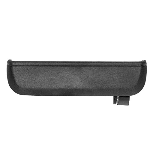 AUTEX 1pc Black Exterior Outer Rear Right (Passenger Side) Door Handle Compatible with Toyota Tercel 1995 1996 1997 1998