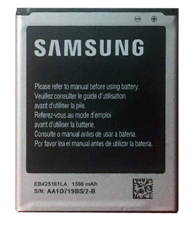 Samsung EB425161LA OEM standard battery for Samsung phones Galaxy S3 SIII Mini i8190 Exhibit T599 S Duos S7562 Ace 2 X S7560M GT-I8160 (Samsung Galaxy S Iii Mini Battery Life)