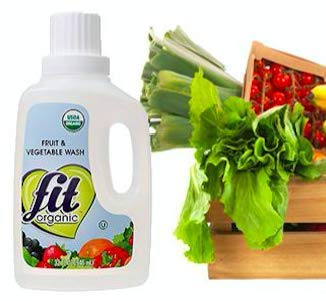 - Fit Organic 32 oz. Produce Wash Soaker/Refill (2-(Pack))