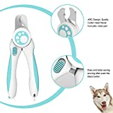 LAIKA Dog Nail Clippers and Trimmer - with Safety