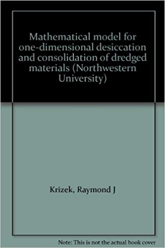 Read Mathematical model for one-dimensional desiccation and consolidation of dredged materials (Northwestern University) PDF, azw (Kindle), ePub, doc, mobi