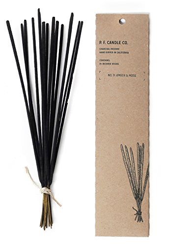 Pf Candle Co, Incense Amber and Moss, 15 Count ()