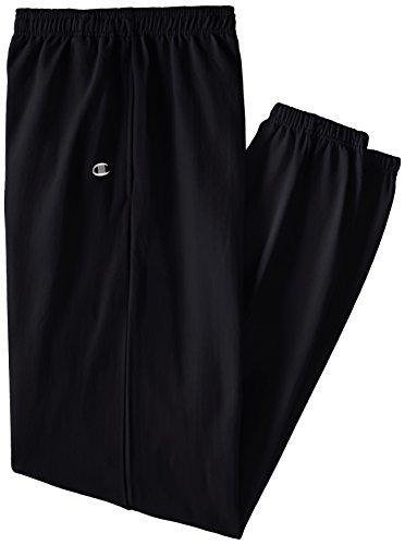 Champion Men's Big-Tall Fleece Pant, Black, X-Large/Tall