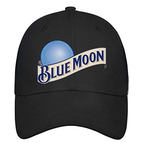 sknkdhgiJ Unisex Womens Relaxed Baseball Cap Blue-Moon-Beer- Athletic Professional All Cotton Trucker Cap