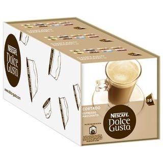 Dolce Gusto – Coffee Capsules, Cortado Espresso Macchiato, 1.86 Oz., (Pack of 3)