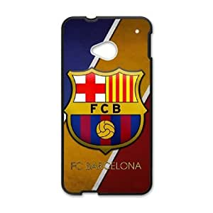 Printed Cover Protector HTC One M7 Cell Phone Case Barcelona Znssa Unique Design Cases