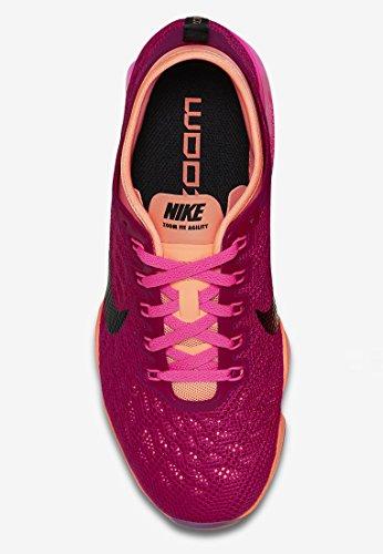 Nike - Zapatillas de deporte Zoom Fit Agility 603 Sport Fuschia/Black-Sunset/Glow Pink Power