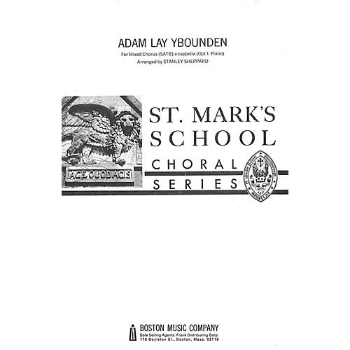 (Adam Lay Ybounden SATB, Pack of 3)