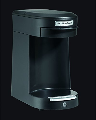 Hamilton Beach SMALL APPLIANCES 1030389 Single Cup Hospitality Coffeemaker with 3-Minute Brew Time, Black