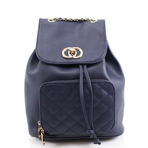 Girls Fashion Handbags Women's 832 LeahWard Backpack Holiday Bag Navy For Travel Fashion 7RZyqH