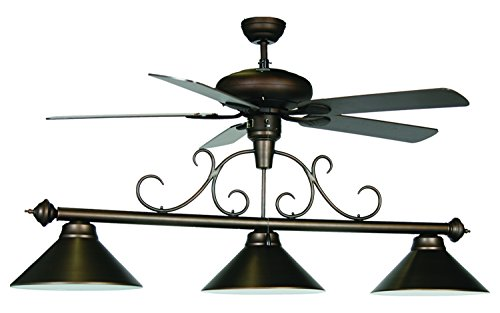 Billiards Table Light Without Built In Fan