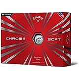 Callaway Chrome Soft Yellow Golf Balls 12-Ball Pack