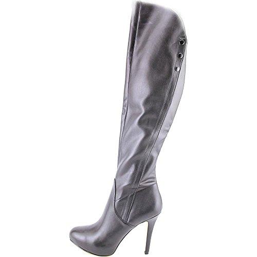 GUESS Womens Enesta Almond Toe Over Knee Fashion Boots Black 6JSiZtV3j