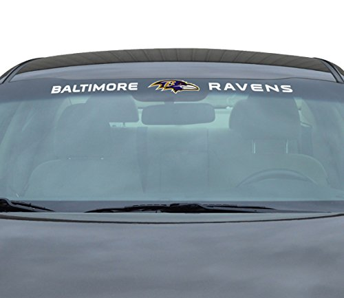 - Team ProMark NFL Baltimore Ravens Windshield Decal, Blue, Standard
