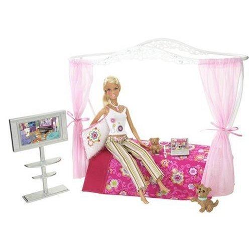 Wonderful Barbie Bedroom Set Creative