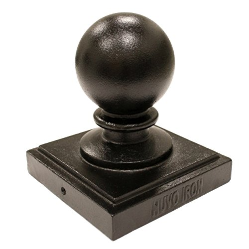 Nuvo Iron Decorative Ball Post Cap for 5.5