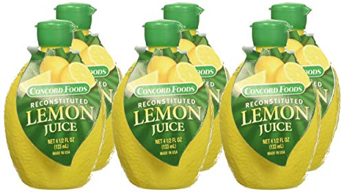 - Concord Foods Lemon Juice 4.5 oz (Pack of 6)