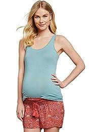 Jessica Simpson Under Belly Crochet Detail Maternity Shorts