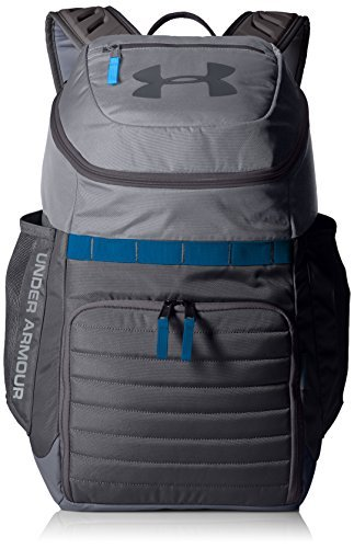 Under Armour Undeniable 3.0 Backpack,Overcast Gray (941)/Mako Blue, One Size [並行輸入品] B07F4BG64Z