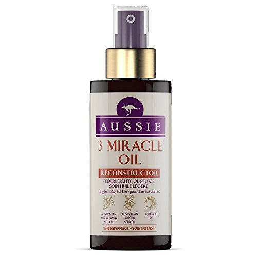 Aussie 3 Miracle Oil Reconstructor for Damaged Hair 100ml by Aussie